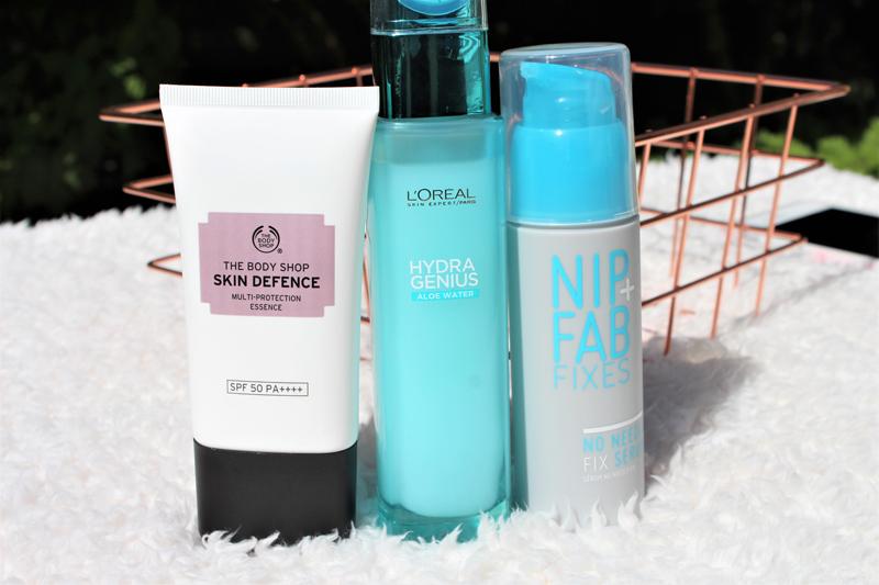 summer skin routine