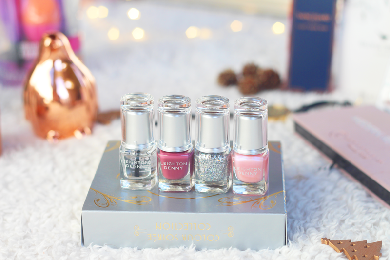 Christmas gift guide leighton denny soiree colour collection