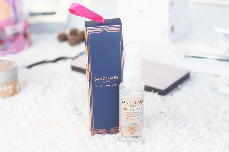 Christmas gift guide sanctuary body spray