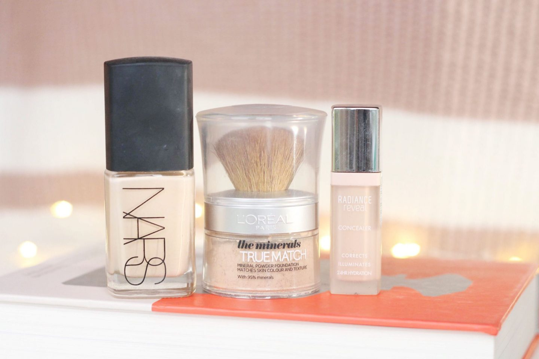 Full Coverage Winter Base Makeup For Dry Skin