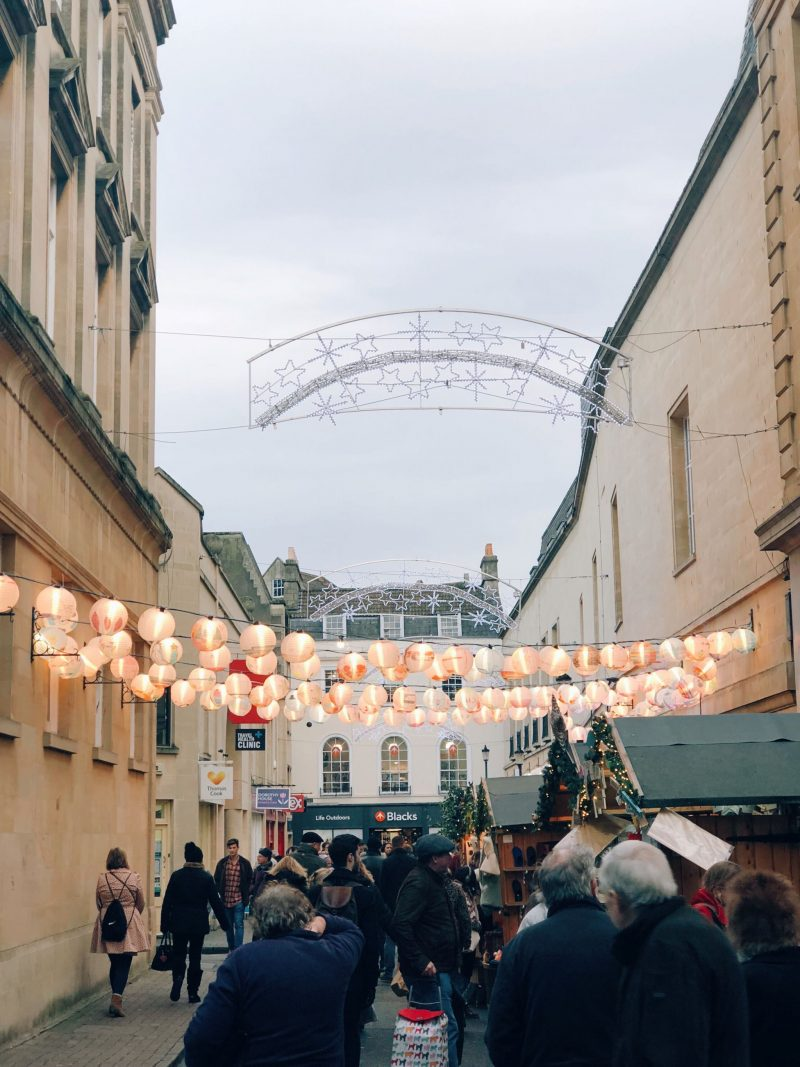 festive day bath christmas market