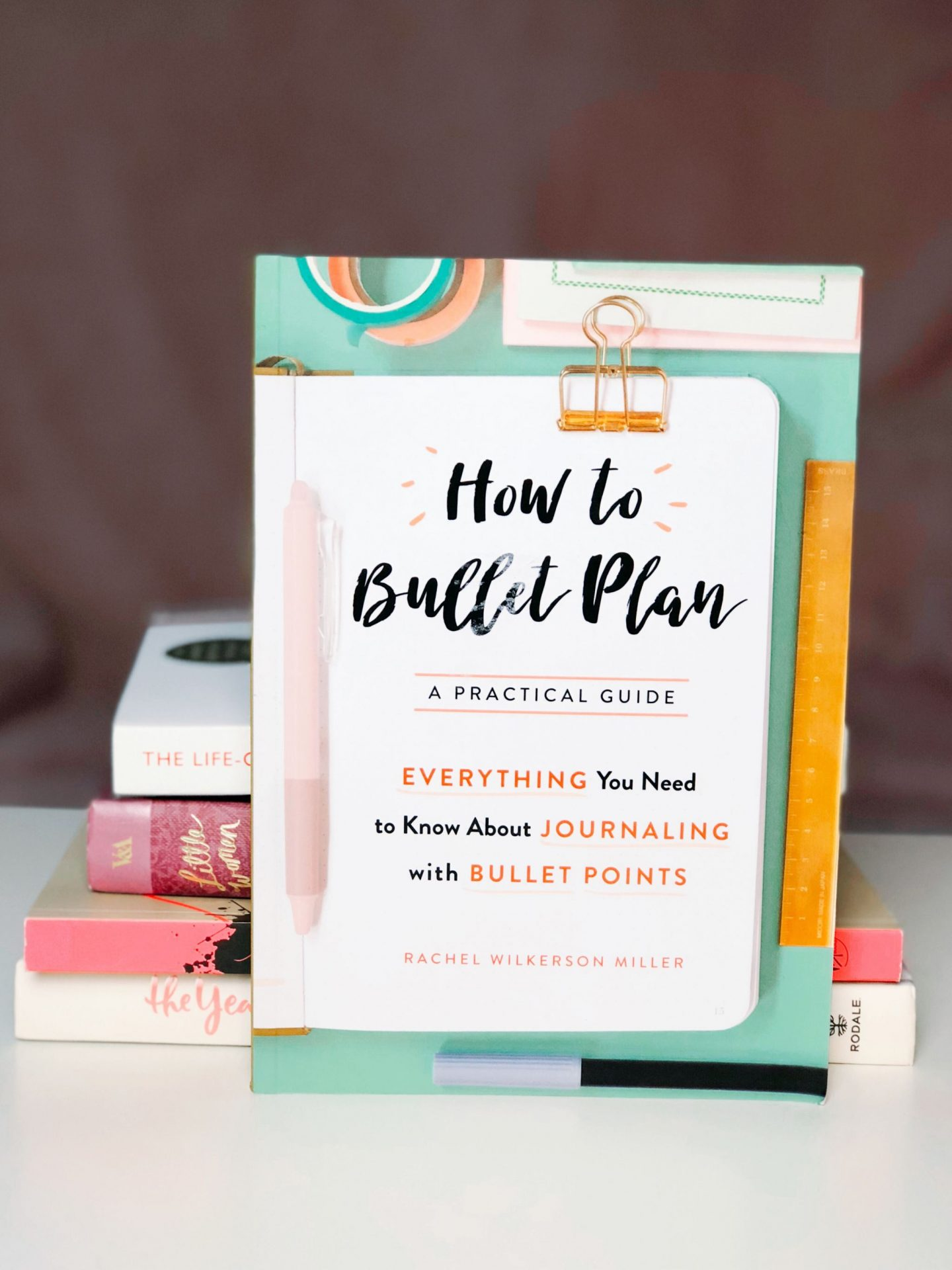 how to bullet plan book