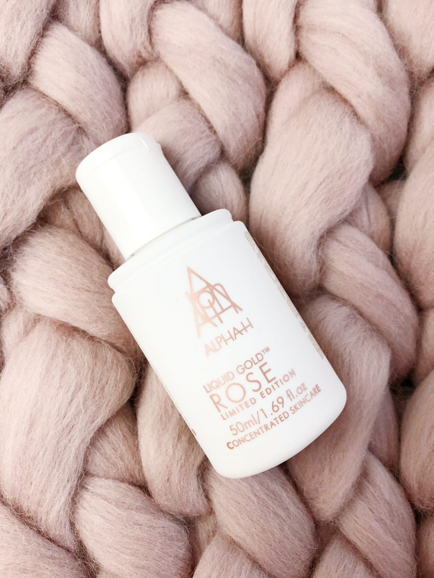 alpha h liquid rose gold skincare review