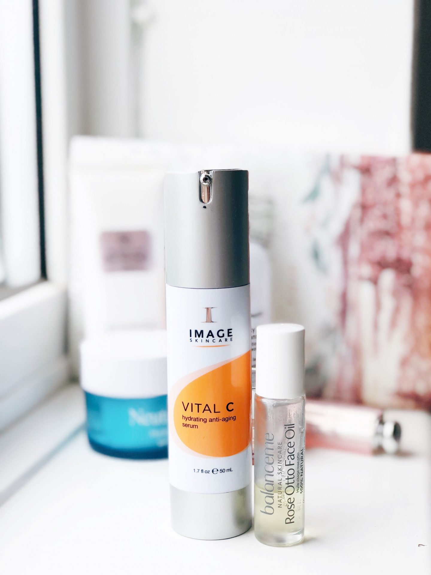 image skincare serum rose otto facial oil