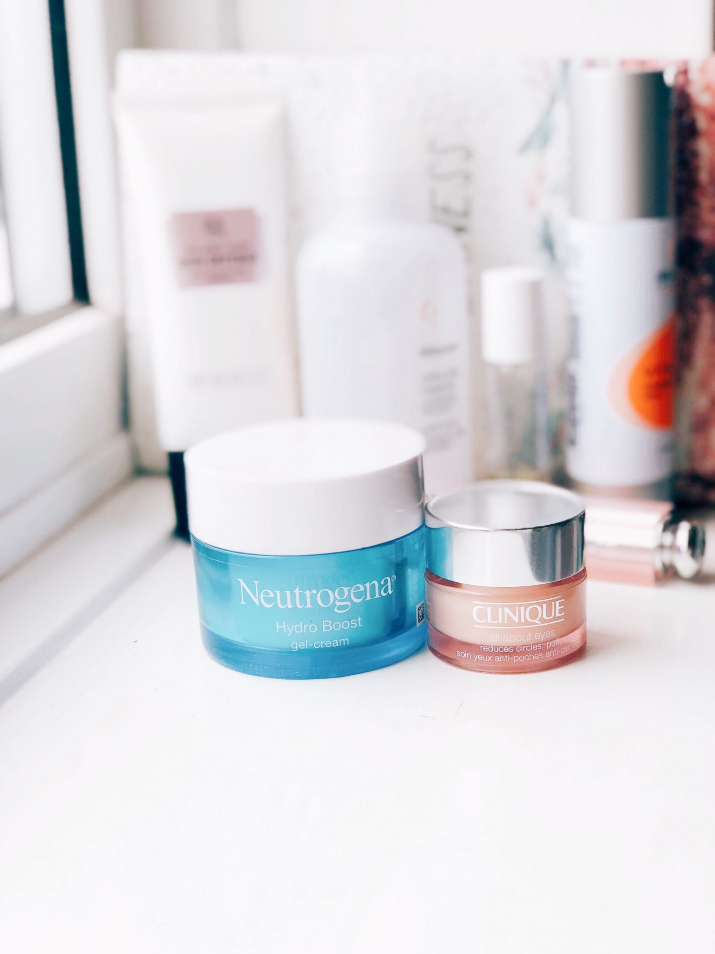 netrutgena hydro boost gel cream clinique all about eyes